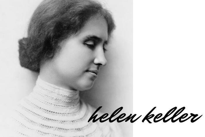 Η Έλεν Κέλερ σε νεαρή ηλικία