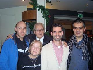 Ο Βαγγέλης Αυγουλάς στα Public με την Ασιδέρη , τον Κωνσταντάρα, τον Αμιρά και το Μαρκοστάμο