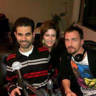 Ο Βαγγέλης Αυγουλάς, η Ελεάννα Φίλιου και ο Χάρης Ασημακόπουλος