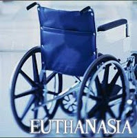 Ένα αναπηρικό αμαξδιο και η λέξη ευθανασία