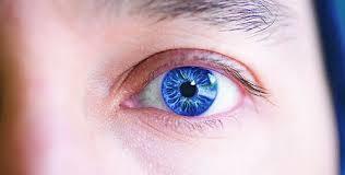 Εστίαση σε ένα ανθρώπινο μάτι