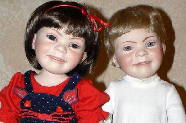 κούκλες με σύνδρομο down