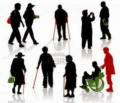 σκίτσα ανθρώπων με αναπηρία και μη