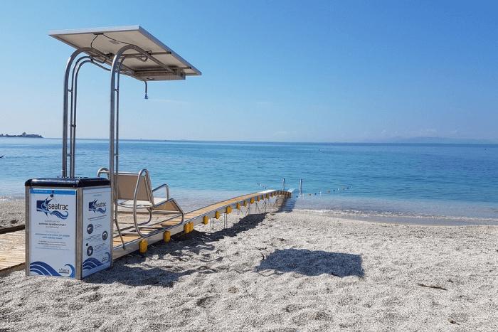 seatrac σε παραλία