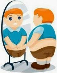 Σκίτσο Παχύσαρκου ανθρώπου