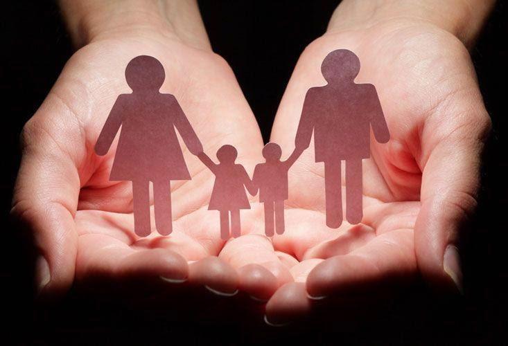 σκίτσο οικογένειας
