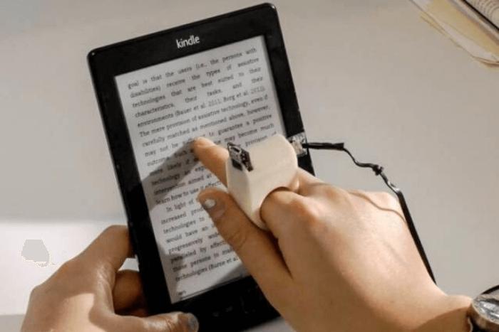 το έξυπνο δαχτυλίδι διαβάζει σε τάμπλετ