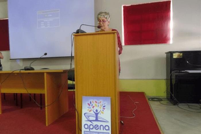 αντιδήμαρχος του Δήμου Ν. Ιωνίας κα Όλγα Ακιανίδου,