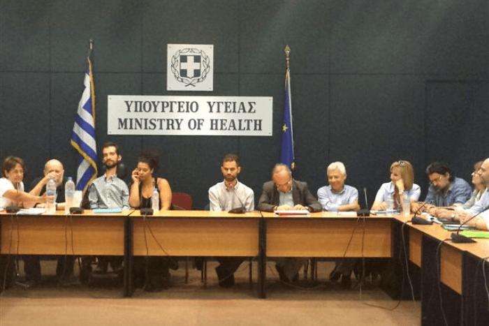 Ο Βαγγέλης Αυγουλάς στο υπουργείο Υγείας με εκπροσώπους συλλόγων με αναπηρία