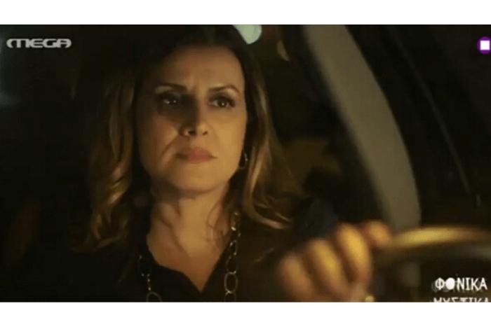 Η Άννα Δρούζα στιγμιότυπο από την εκπομπή