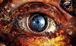 Βιονικό μάτι φωτογραφία από υπολογιστή