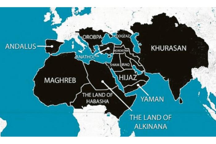 Ο Χάρτης του Ισλαμικού χαλιφάτου