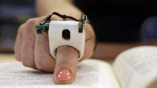 δάχτυλο με κάμερα