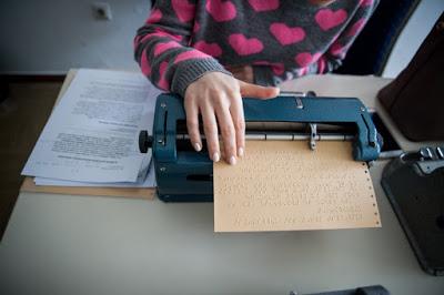 Γραφομηχανή braille
