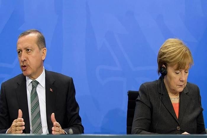 Ο Ερντογάν και η Μέρκελ