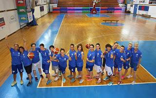 Ομάδα κωφών γυναικών στο μπάσκετ
