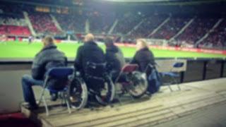 Άτομα με κινητική Αναπηρία στο γήπεδο
