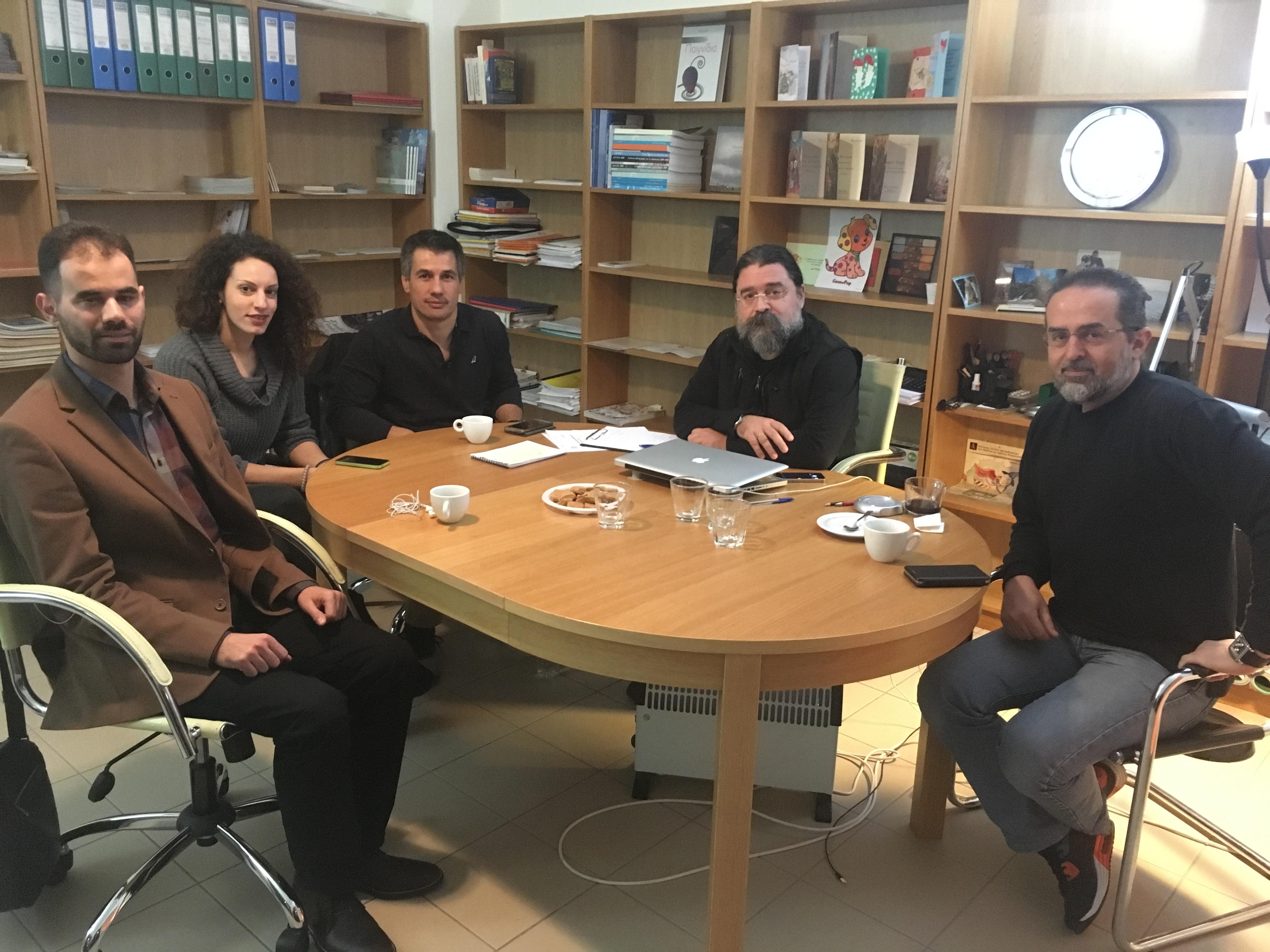 Η συνάντηση στο Μεσολόγγι