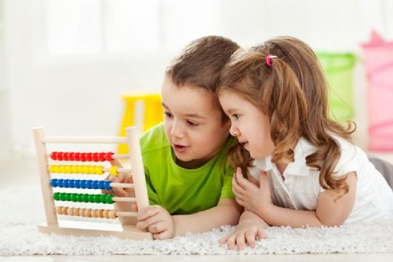 Παιδιά με αριθμητήρι