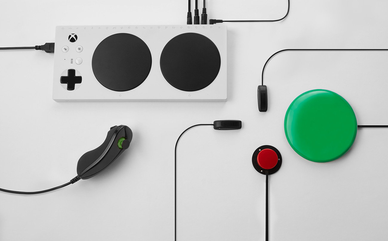 Χειριστήριο χειριστήριο Xbox Adaptive Controller