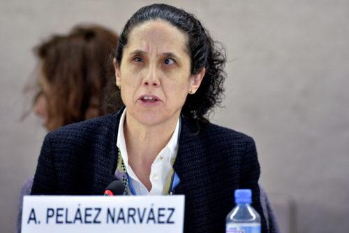 Η Ana Peláez Narváez