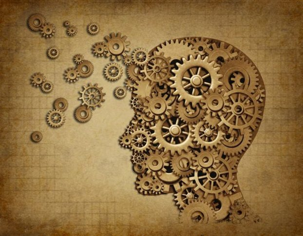εγκέφαλος με γρανάζια