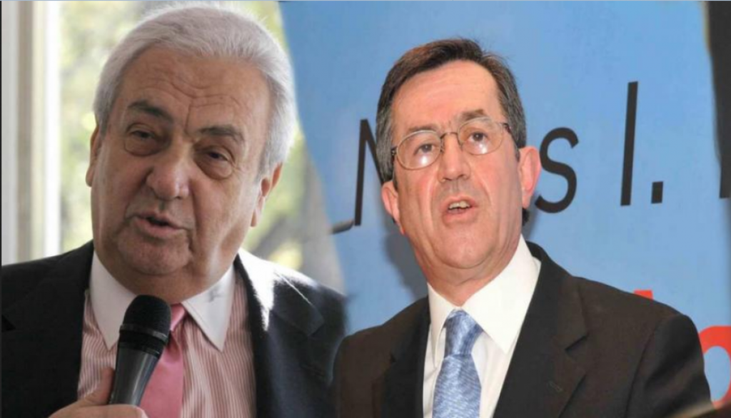 ο κος Κονοτμηνάς και ο κος Νικολόπουλος