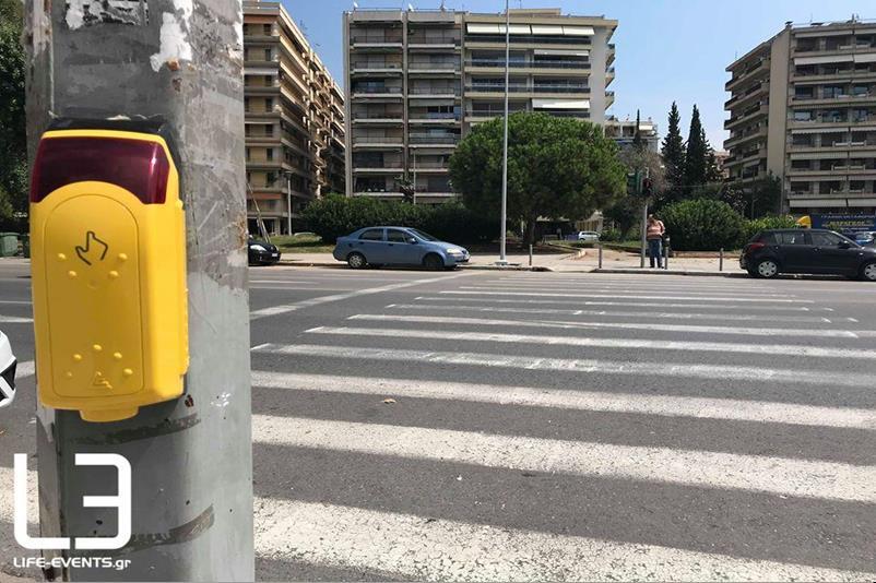 έξυπνο φανάρι σε λεωφόρο στη Θεσσαλονίκη