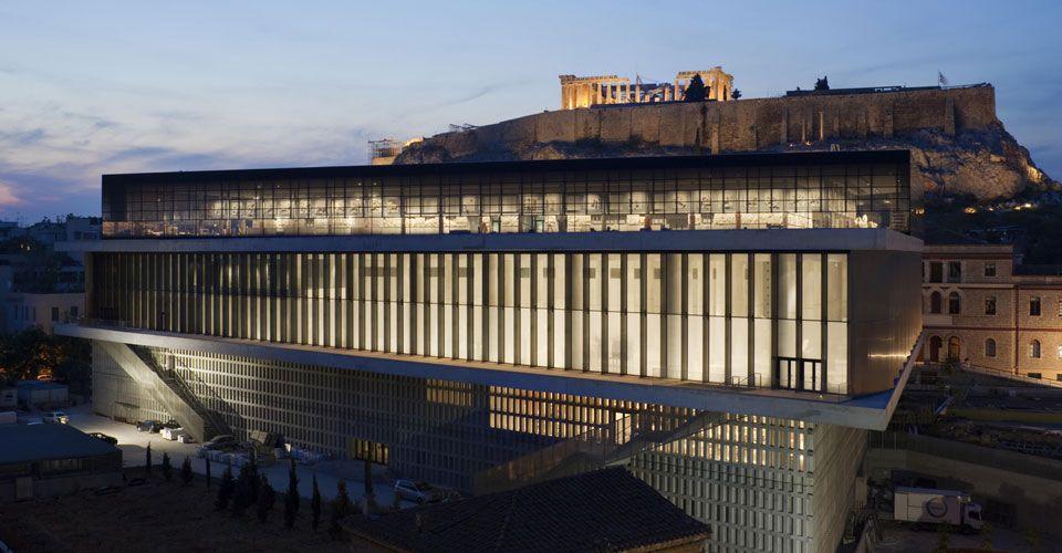 Το κτίριο του Μουσείου της Ακρόπολης