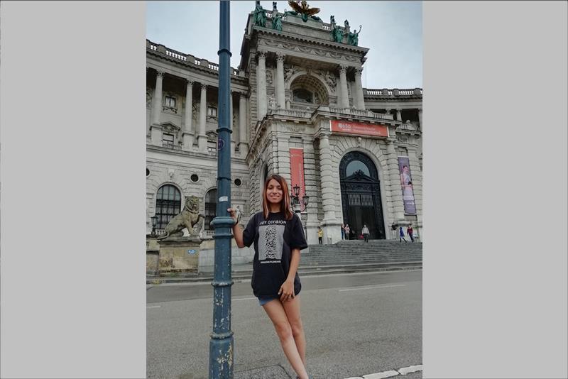 Η Μαρία Ορτουλίδου στη Βιέννη