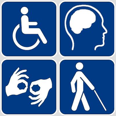 Εικονίδια αναπηρίας