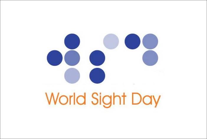 Γραφή braille και η φράση world_sight_day