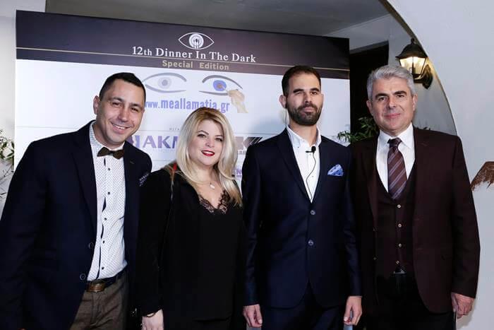 Ο Βαγγέλης Αυγουλάς με την Λίνα Μητροπούλου και τον Παναγιώτη Μητρόπουλο