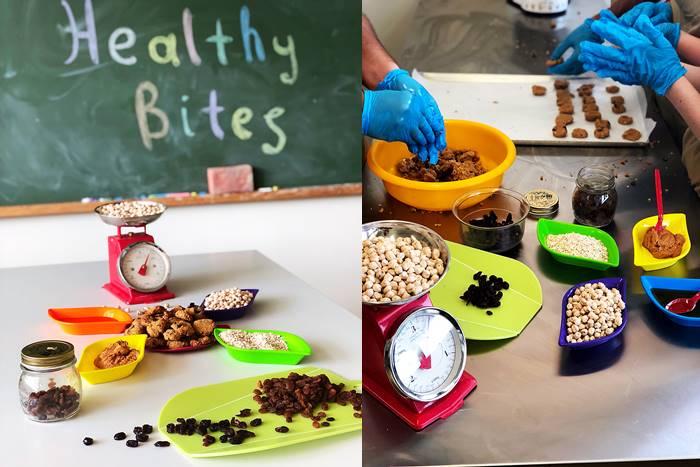 """Τροφές για το νέο πρόγραμμα """"Healthy Bites"""""""