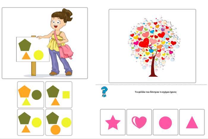 σκίτσα που βοηθούν την οπτική μνήμη στο παιδί