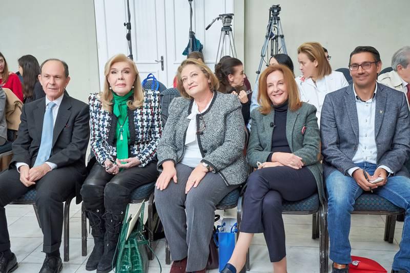 Η Μαριάννα Βαρδινογιάννη, η Σίσσυ Παυλοπούλου,η Αθηνά Κρητικού, ο Γιώργος Γεννηματάς και ο Νίκος Κακλαμανάκης