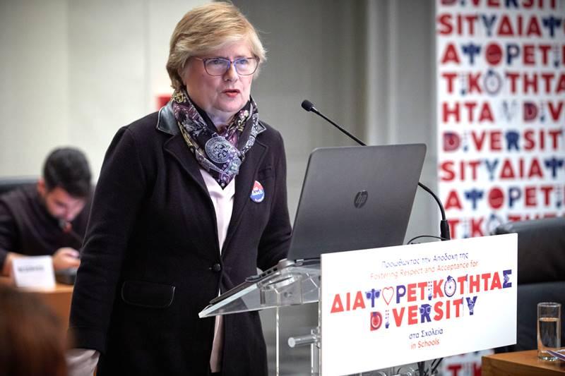 Η Καθηγήτρια του Τμήματος Ψυχολογίας του ΕΚΠΑ Φρόσω Μόττη-Στεφανίδη