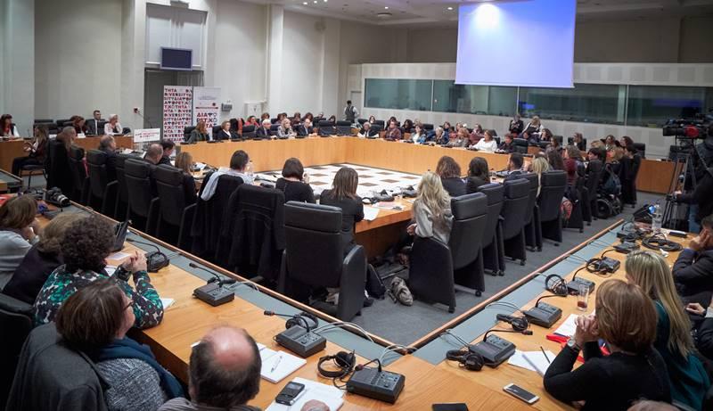Γενική Φωτογραφία από την ενότητα συζήτησης ειδικών της εκπαίδευσης