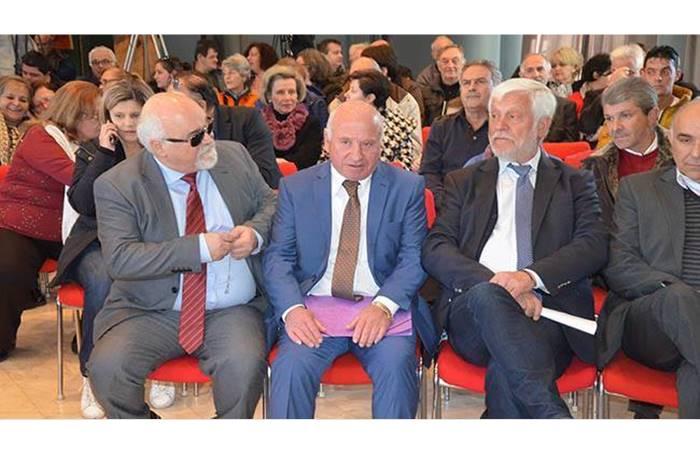 Ο Πέτρος Τατούλης και ο Ιωάννης Βαρδακαστάνης στο Συνέδριο Τουρισμού