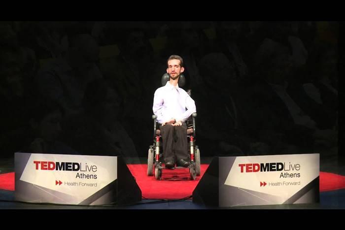Ο Στέλιος Κυμπουρόπουλος στο TED MED Athens