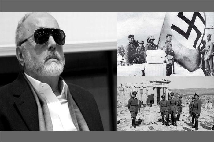 Παναγιώτης Κουρουμπλής και φωτογραφίες των Γερμανών στην Αθήνα