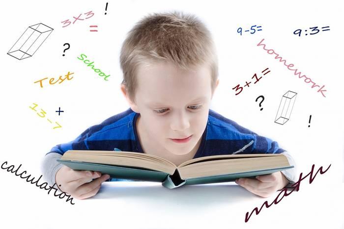 Παιδί που διαβάζει