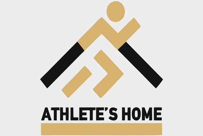 """Λογότυπο του συλλόγου """"το σπίτι του αθλητή"""""""
