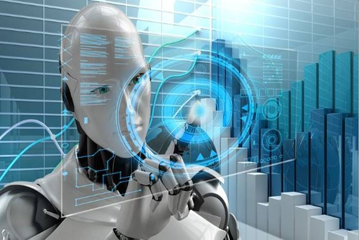 σύστημα που δείχνει ένα ρομποτ
