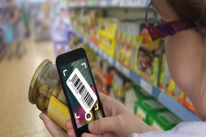 Εφαρμογή που αναγνωρίζει συστατικά σε προϊόντα