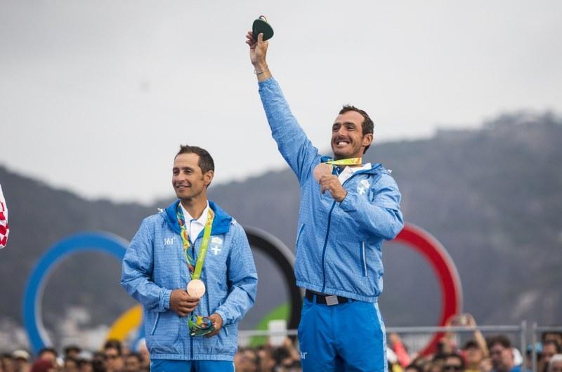 Ο Πάυλος Καγιαλής και ο Παναγιώτης Μάντης με μετάλλια στους ολυμπιακούς αγώνες