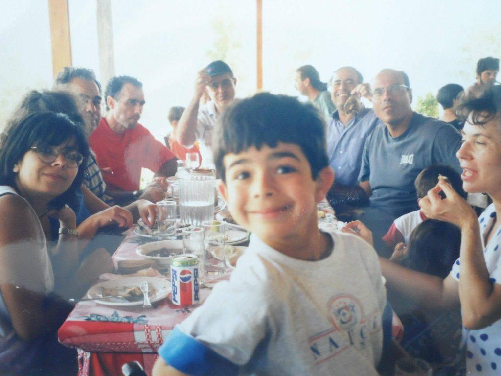 Ο Κωνσταντίνος Σαμαράς σε παδική ηλικία
