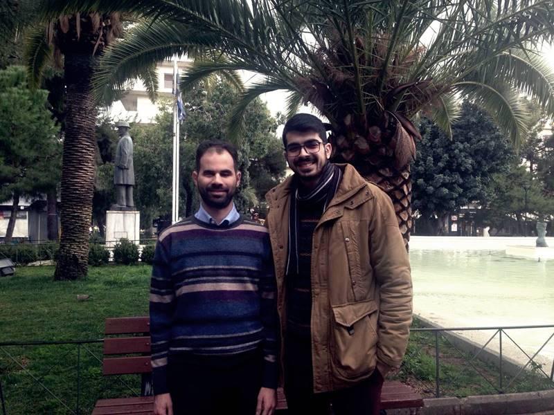 Ο Κωνσταντίνος Σαμαράς και ο Βαγγέλης Αυγουλάς