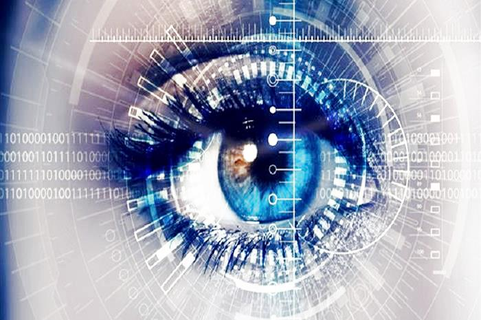 μάτι σε μηχάνημα