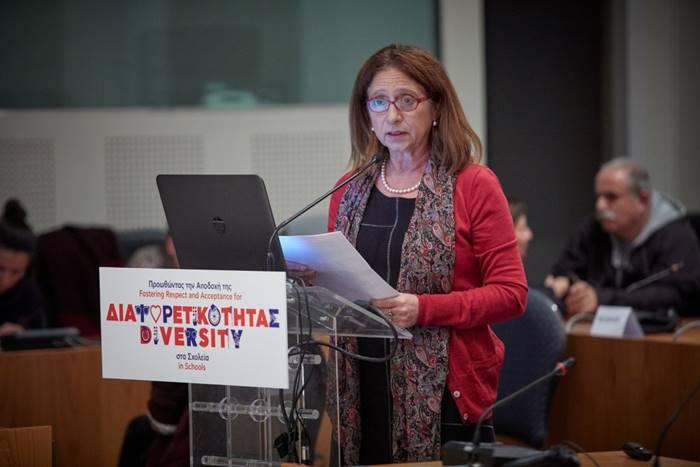 Η Μαρία Ηλιοπούλου στο συνέδριο του ΣΚΕΠ